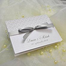 Papiernictvo - Elegantné svadobné oznámenie - 4970849_