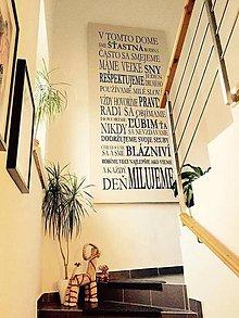 Dekorácie - 3458n Nálepka na stenu - Domov - 4974165_