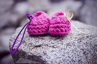 Topánočky - Babydream ružové - 4973928_