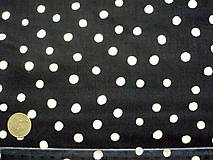 - Bavlna Hey Cupcake BLACK - 4973437_