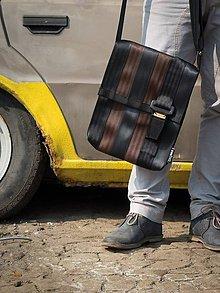 Tašky - BAB 38-13 z bezpečnostních pásů z aut - 4973536_
