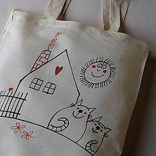 Nákupné tašky - DOMA - taška nákupka - 4973275_