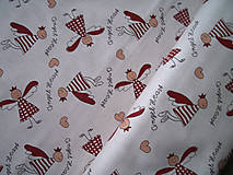 Textil - Dekoračná látka - anjeliky - 4975058_