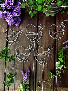 Dekorácie - bylinka pre zdravie - 4975998_