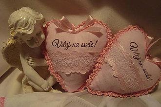 Dekorácie - Srdiečka  pre drobčekov.... - 4975279_
