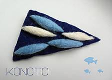 Odznaky/Brošne - ostrohrankovec modrastý... - 4978245_