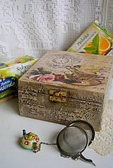 Krabičky - čaj o piatej... - 4980830_