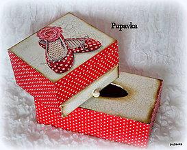 Krabičky - Balerínky sada - 4978105_
