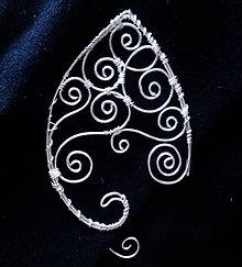 Náušnice - Elven Ear Cuff - 4980320_