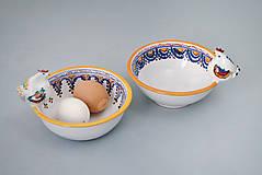 Nádoby - Barevná miska s kvočnou - 15 cm - 4984608_