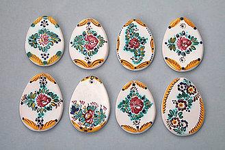 Dekorácie - Kraslice barevně malovaná - 4983904_