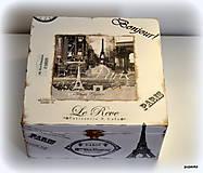 Krabičky - Cesta Parížom - 4982977_