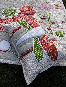 Úžitkový textil - Vážka - vankúš ... - 4981840_