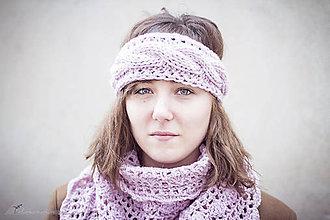 Ozdoby do vlasov - Rose-eight čelenka ku šatke - 4986094_