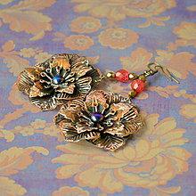 Náušnice - Filigree lill - 4986150_