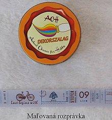 Papier - Dekoračná páska 15mm x 10m- Auto a bicykel - 4988456_