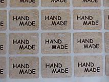 Papier - hand made nálepky - 4988374_