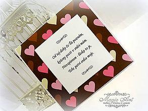 Papiernictvo - Od tej doby Ťa poznám, krásny pocit v srdci mám... - 4988882_