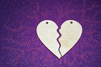 Materiál ručne robený - srdiečkové výseky - srdce pre oboch - 4988777_