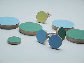 Nábytok - Vešiaky rôzne farby - 4986477_