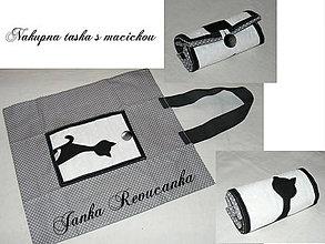 Nákupné tašky - nákupná - mačička :-) - 4988920_