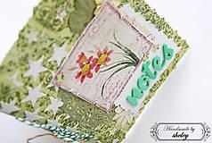Papiernictvo - A6 Zelenkavý notes - 4991659_