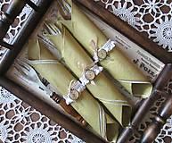Pomôcky - Vintage sukničky na servítky - Je čas stolovania - 4991351_