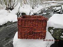 Košíky - Úložný kôš Slivka - 4990396_