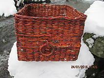 Košíky - Úložný kôš Slivka - 4990398_