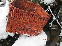 Košíky - Úložný kôš Slivka - 4990402_