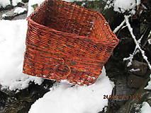 Košíky - Úložný kôš Slivka - 4990403_