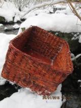 Košíky - Úložný kôš Slivka - 4990409_