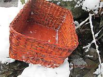 Košíky - Úložný kôš Slivka - 4990411_