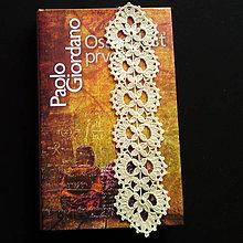 Drobnosti - Háčkovaná záložka do knihy - 4990836_