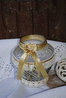 Svietidlá a sviečky - Lampášik vintage - 4995092_