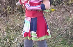 Sukne - veselmese sukňa a teplorúčky - 4998158_