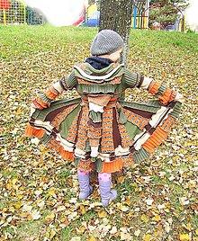 Detské oblečenie - Lel mini-zelená rosnička - 4998955_