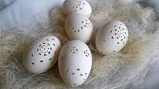 Dekorácie - Husacie madeirove vajíčka  - 4996017_