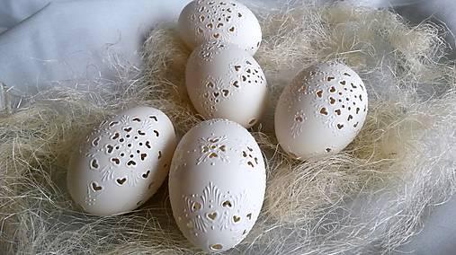 Dekorácie - Husacie madeirove vajíčka  - 4996019_
