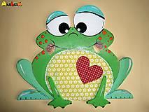 Dekorácia na zavesenie - žabka
