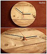 Hodiny - Okrúhle paletové hodiny - 5004594_