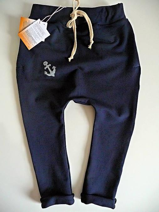 946b34870843 Detské nohavice pudlové- tmavá modrá   NiLu - SAShE.sk - Handmade ...