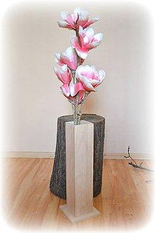 Dekorácie - Drevená váza na dekoráciu - 5003862_