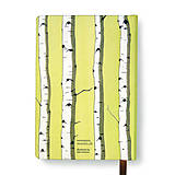 Papiernictvo - Zápisník A6 Breza (Zápisník A6 Breza (bez gumičky)) - 5002290_