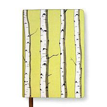 Papiernictvo - Zápisník A6 Breza (Zápisník A6 Breza (bez gumičky)) - 5002291_