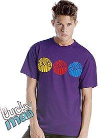 Tričká - S3omy purple 3D - 5003204_