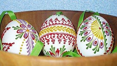 Dekorácie - Kraslica vosková (farebná) - 5006558_
