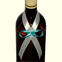 Nádoby - Stužka na fľašu lepiaca, rôzne farby - 5007326_