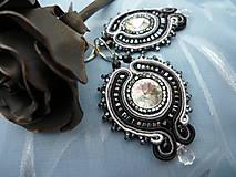 Náušnice - Náušnice Luxury night - 5006864_