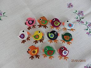 Dekorácie - Vtáčik 1 - 5005935_